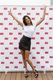 Alessandra Ambrosio - Leather Mini Skirt