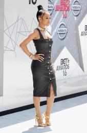 Karruehe Tran - Leather Midi Dress
